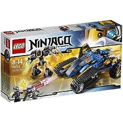 LEGO Ninjago - El caza terrestre del trueno, juego de construcción (70723)