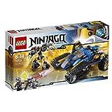 LEGO Ninjago - Playthèmes - 70723 - Jeu De Construction - Le Tout-terrain De Combat 2 En 1