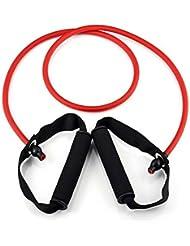 Gomas Tensores Elasticos para Musculacion Yoga Fitness Deporte Band Stretch 4025