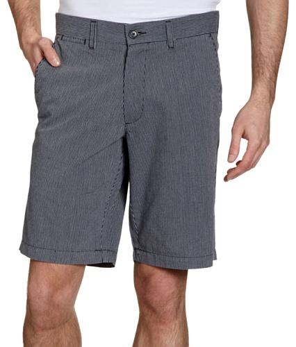 Dockers Herren Short 35460/ Dockers® Flat Front Solid Twill Short, Gr. 34, Blau (PEMBROKE DENFELD B 0063) (Front Flat Herren Dockers)