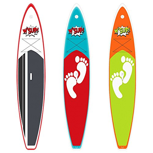 SUP Board Escape 380 x 75 x 15 cm Inflatable Standup Paddle Board aufblasbar Paddel Brett
