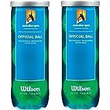 Wilson Australian open tennis ball (pack of 2 Cans)