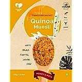 Nourish You Quinoa Muesli, Honey and Nuts, 375g