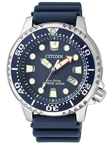 citizen orologio analogico quarzo uomo con cinturino in plastica bn0151-17l
