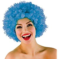 Wicked Costumes Unisex Disco Fever 1970's Jackson 5 Funky Afro Wig - Blue