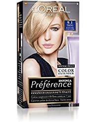 prfrence loral paris coloration permanente 91 blond trs clair cendr - Blond Cendr Coloration