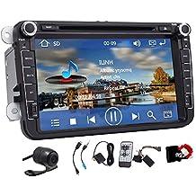 Pupug 8 pulgadas de coches GPS DVD Reproductor de CD Radio Est¨¦reo Para Volkswagen Jetta VW Golf Skoda Passat unidad principal Asiento