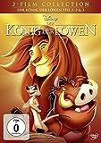 Produkt-Bild: Der König der Löwen - Teil 1, 2 & 3 [3 DVDs]