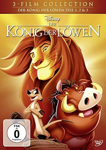 Der König der Löwen - Teil 1, 2 & 3 [3 DVDs] (König Der Löwen)
