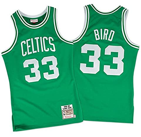 Larry Bird Boston Celtics Mitchell & Ness Authentic 1985-86 Green