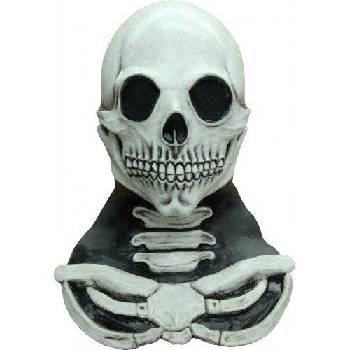 Mask Head & Neck Long Skull White