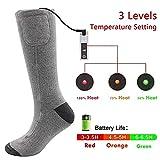 Elektrisch Beheizte Socken Für Chronisch Kalte Füße Auf Der Jagd Auf Das Skifahren Angeln Männer-Und Frauen-Universal