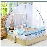 Gamloious Été moustiquaire pour Le lit Rose Bleu Violet superposés étudiants Lit...