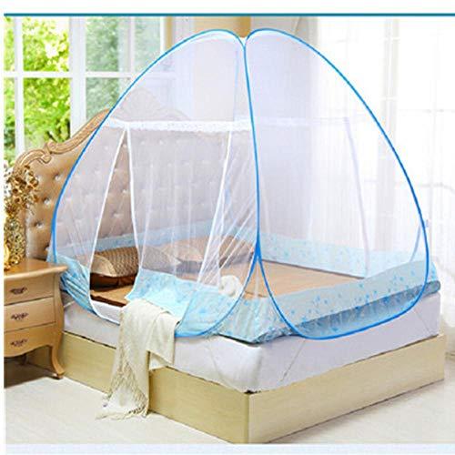 kitonetz für Bett Rosa, Blau, Lila Studenten Etagenbett Moskitonetz-Ineinander greifen Günstige Preis Erwachsene Doppelbett Tent Netting ()