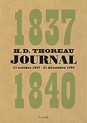 Journal : Volume 1 (octobre 1837 - décembre 1840)