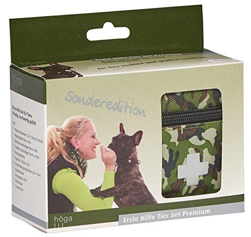 Premium Erste-hilfe-tape (Höga Erste Hilfe Set für Tiere - Premium - Sonderedition, hochwertig gefülltes 16-teiliges Set für Ihre kleinen und großen Lieblinge)