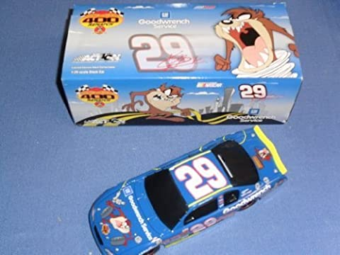 2002 NASCAR Action Racing Collectibles . . . Kevin Harvick #29 GM Goodwrench Service Looney Tunes Rematch BANK Chevy Monte Carlo 1/24 Diecast . . . Limited Edition 1 of 1,056 by NASCAR
