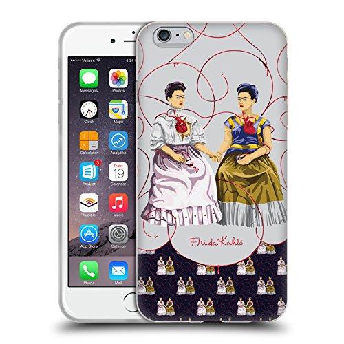 Ufficiale Frida Kahlo Sfondo Blu Auto Ritratti Cover Morbida In Gel Per Apple iPhone 5 / 5s / SE Pattern Mix Blu