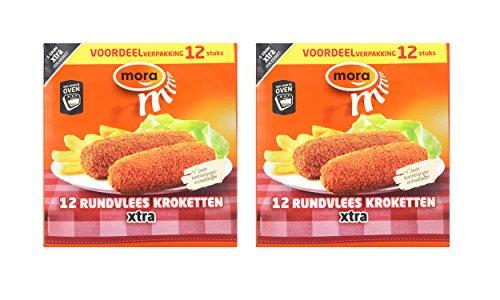 Preisvergleich Produktbild 2 x Mora Rindfleichkroketten 12 Stk. à 70g