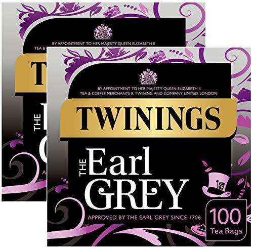 2x Twinings Earl Grey Tea Tee 100 Beutel