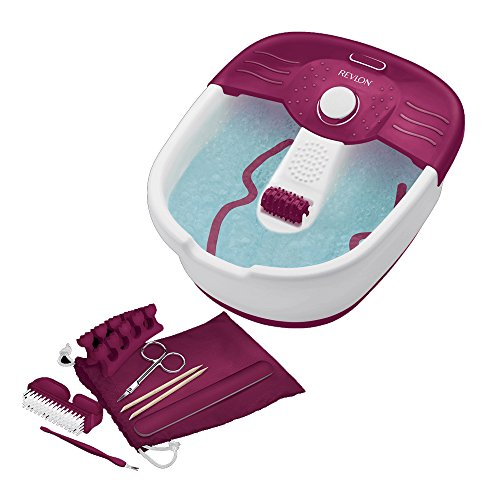 revlon-rvfb7021puk-relaxing-bubbling-massage-pediprep-foot-spa-with-9-pieces-nail-care-set-by-revlon