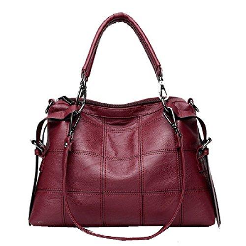 Borse Yy.f Nuovo Modo Selvaggia Tracolla Messenger Portatile Multi-colore Elegante Esterno Pratico Interno Red