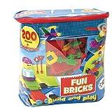 Beluga Spielwaren 1728 Fun Bricks-Noppenbausteine, 200 Teile
