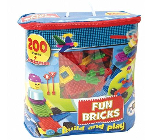 Beluga Spielwaren 1728 - Fun Bricks Noppenbausteine, 200 Teile