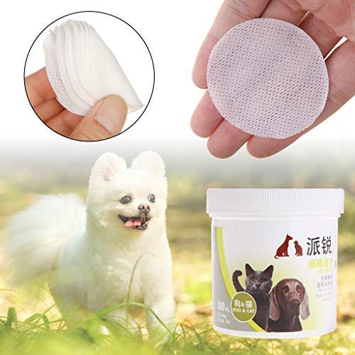 MoreLJ ❤ 1 Box Nass-Tissue Haustieraugen Fleckenentferner Reinigungsmittel Weiche Tücher Nicht reizend ungiftig Papierhandtuch Hund Katze Welpen Kätzchen Produkte