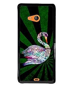 PrintVisa Designer Back Case Cover for Microsoft Lumia 540 Dual SIM (Jaipur Rajasthan Tribal Azitec Mobiles Indian Traditional Wooden)