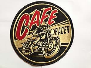 Extra Large coudre Cafe Racer Vélo Biker Patch Thermocollant brodé Badge