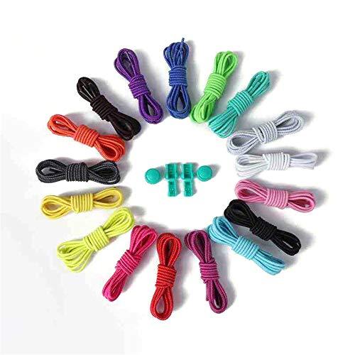 Cordones elásticos de 25 colores
