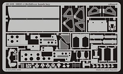Eduard Accessories 4853930502000sb2C de 4Helldiver Bomb Bay para Revell/Monogram/Accu Transferencia Miniature Montar