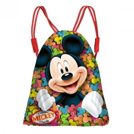 Mickey Mouse Delicious Turnbeutel, 43 cm, Rot (Rojo)