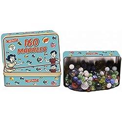 Pack con 160 Canicas de colores