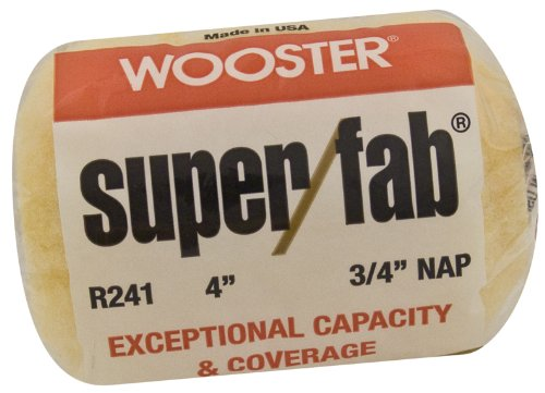 Wooster Pinsel .75 in. Nap Super Fab Roller Covers R241-4 -