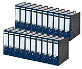 Leitz Ordner 1080, DIN A4, Rückenbreite 80 mm, 20 Stück, blau