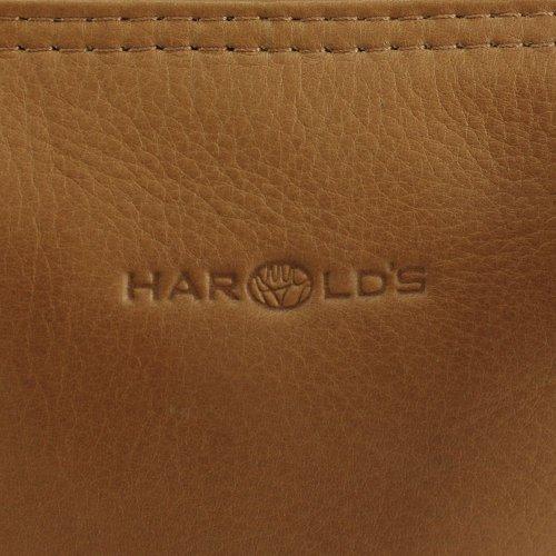 Harold's Country borsone di viaggio pelle 54 cm nero cognac
