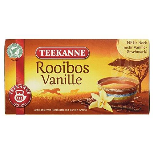Teekanne Rooibos Vanille, 20 Beutel, 35 g