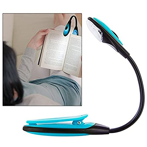 Lampe Flexible - Lampe de lecture Clip flexible LED voyage