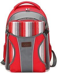 Yoovi Large Capacity Diaper Tote Bags Backpack With Play Mat