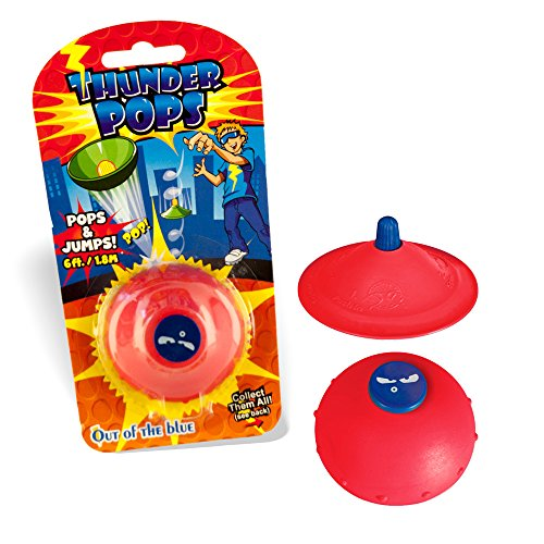 .DER DROHNEN-GURU DS24 Thunder Pops in Rot - Gummi UFO Schnalzer Popper Spring Pop ()