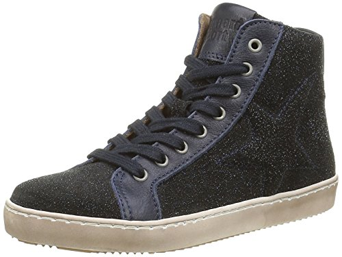 Bisgaard 31807216, Sneakers Hautes Mixte Enfant, Bleu (610 Blue), 29 EU
