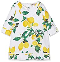 La Ormiga Girl's 1727020315 Blouse, Yellow (Amarillo), (Manufacturer Size: 4A)
