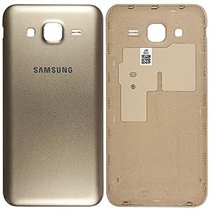 Original Samsung Akkudeckel gold für Samsung J500H Galaxy J5 (Akkufachdeckel, Batterieabdeckung, Rückseite, Back-Cover) - GH98-37588B