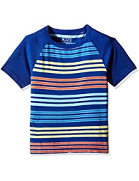 The Children's Place Boys' Short  Sleeve Striped T-Shirt