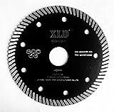 SAW BLADE XLD Heißgepreßte Turbo Diamant Sägeblatt, Grad A, 4,5 Zoll zum Schneiden Granit Marmor Betonziegel und so weiter, Super Sharp, High Quality By XLDTOOL ( Size : 115*2*10*22.23mm )