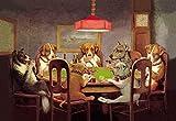 Stampa fine art–Poker Dogs: a Friend in Need, 1903di Bentley Global Arts gruppo, Carta, Multi, 19 x 13