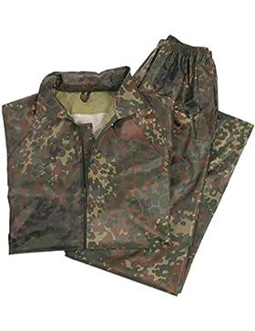 Pantalón y sudadera impermeable camufaje - L