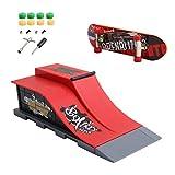 dairyshop 6pcs/set Skate Park Rampe Teile a-f für Tech Deck Griffbrett Finger Board Ultimate Parks e